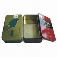 Best Tin Boxes, Measures 139x85x41mm, Customized Colors are Accepted wholesale