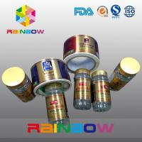 China Custom Shrink Sleeve Label Semi Gloss Coated Self Adhesive Label For Jar And Cans on sale