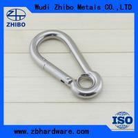 Cheap with no screw,stainless steel AISI304 or 316 DIN5299 stainless steel snap hook for sale
