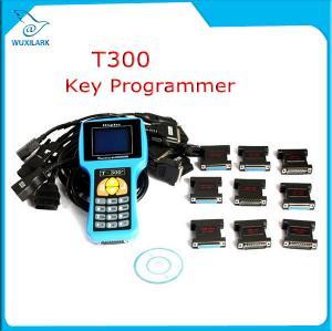 China T300 Key Programmer Newest V16.8 T 300 T-300 OBD2 Auto Key Transponder English Spanish Optional T300 T-code Key Maker on sale