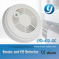 China White Smoke and Co Carbon Monoxide Detector / Alarm Oem Service on sale