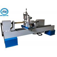 Best 4 Axis CNC Wood Turning Lathe Machine For 3D Turning Carving Broaching wholesale