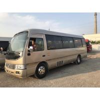 Best 100% Japan made Toyota Coaster used small diesel bus with 28 seats for cheap sale wholesale