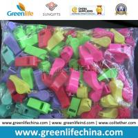 China Chinese Cheap Promotional Various Colors Whistle of Plastic Material on sale