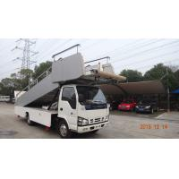 Best High Loading Aircraft Boarding Stairs , Airplane Steps Ladder Easy Moving wholesale