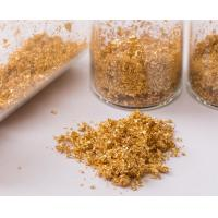 China Skincare essence soap and cream decoration ingredients 24k edible gold flakes on sale