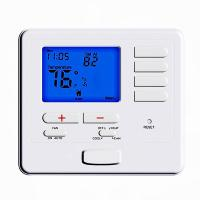 Buy cheap Omron Relay Heat Pump Programmable Thermostat With Humidity Control from wholesalers