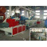 Best Pvc Pipe Making Machine PVC Pipe Extrusion Line For 16 - 630mm Tube wholesale