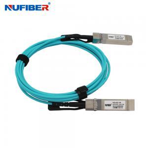 Best Hot Pluggable 1M OM3 10G SFP+ AOC Active Optical Cable wholesale