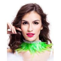 Best 9 Colors Feather Dance Costumes Fabulous Feather Chocker Necklace Accessories wholesale