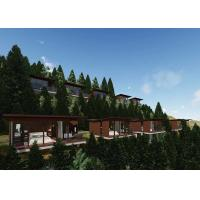 China Figured Prefabricated House Shanghai With Prefab Wooden House on sale
