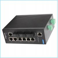 Industrial Level 4 design 10 gigabit ethernet switch , metal casing Fiber Ethernet Switch