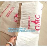 Best kraft paper laminated pp woven bag for industry,paper bags laminated woven sack kraft poly lined bags with your own logo wholesale