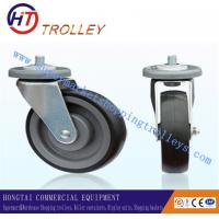 Best Thicker 5 TPE Shopping Trolley Spare Parts Universal Castors for Factory material handling wholesale