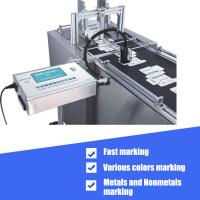 China Expiration Date Batch Number Inkjet Coding Machine High Performance Logo Printing on sale