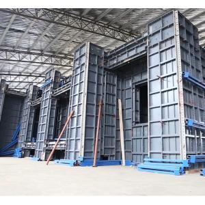 Best 4mm 25KG/SQM Heavy Duty Building Aluminum Formwork Profiles wholesale