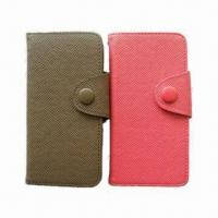 Best PU Cases with Palm Pattern for iPhone 5, Various Colors Available wholesale