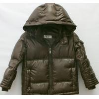 Best fashion breathable feather windproof children down winter coats for little boy wholesale