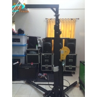 Best Outdoor Concert Light Truss Stand 2600LB Manual Barring Device wholesale