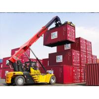 Best Customized Reach Stacker Forklift High Efficiency 45 Ton Weather Resistance wholesale