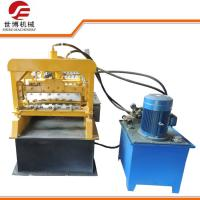 Best Garage Steel Door Frame Roll Forming Machine , Rolling Shutter Making Machine wholesale