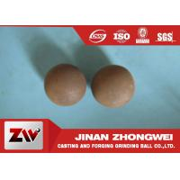 China Custom 60mn Forged Steel Grinding Media Balls For Copper Mining wholesale