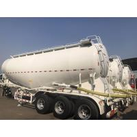 Best 3 Axle Used Cargo Trailers V Tanker Shape With 40m3 Tanker Capacity wholesale