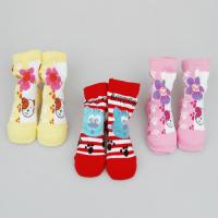 Best Personalized Breathable Safety socks, Kids Novelty Socks Shoes For Infants / Toddlers / Girls wholesale