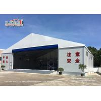 Best White Color Permanent Relocatable Aircraft Hangar 25 X 50 Side Hard Wall wholesale