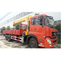 China Dongfeng Crain Used Trucks , 6X4 Used Auto Crane 180/2200 Kw Max Power on sale