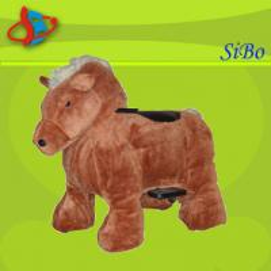 Best Animal Ride Game Machine , Plush Animal Rides , Happy Animal Rider wholesale