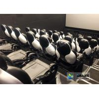 Cheap Fun And Exciting Electric 5D Cinema System , Solid & Stable Movie Theater Chairs for sale