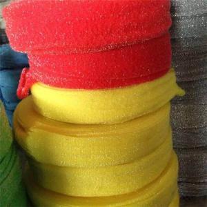 Best kitchen dish sponge scourer cloth /scrubber cloth in roll wholesale