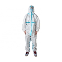 Buy cheap medical isolation protective clothing non-woven security safety clothing from wholesalers