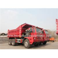 Best Offroad Mining Dump Trucks / Howo 70 tons Mine Dump Truck with Mining Tyres wholesale