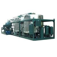 China Black engine oil recycling,oil purifier to diesel oil on sale