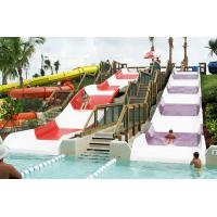 China Fiberglass Kids' Water Slides, Outdoor Pool Water Slide For Children With a Safety  Height on sale