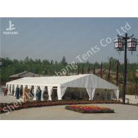Best Portable Aluminum Structure Big Party Event Tents , Amazing White Fabric Party Marquee wholesale