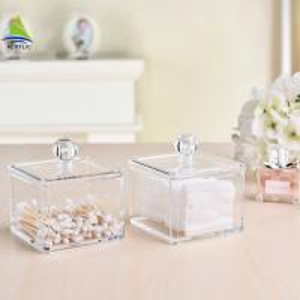 Best New Style Vanity Container Aluminum Acrylic Makeup Storage Box wholesale