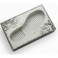 China Shoe prints Shape Fancy Concrete Ashtray Container For Home Decoration on sale