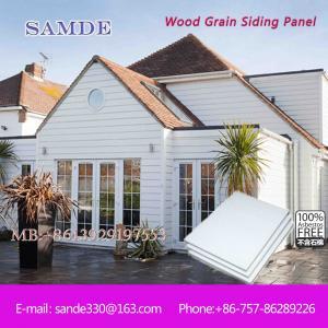 China Exterior fiber cement decorative cladding wall board , decorative siding wall panel on sale