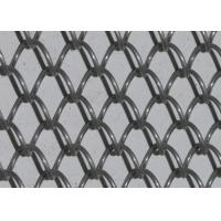 Light Weight Conventional Wire Mesh Conveyor Belt / Chain Link Fencing