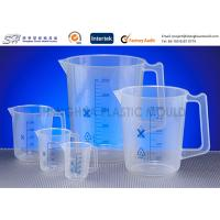 China Custom Labware 500 ml , 150 ml PP Plastic Measuring Beakers , Cups for laboratory on sale