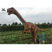 Best Outside Zoo Park Decorative Realistic Dinosaur Statues Water And Smoke Spraying wholesale