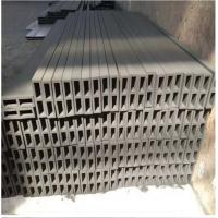 China Refractory Reaction Bonded Silicon Carbide Ceramic Beam For Rbsic Batts on sale