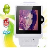 Cheap I6 Watch Phone 1.54 Inch Screen MTK6577 Android 4.0 OS Camera 4GB GPS 3G 2.0MP for sale
