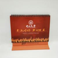 Best 4 Color Printing Custom Desk Calendar For Business Gift Customized Size wholesale