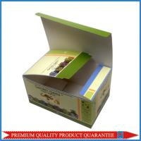 Best custom artwork printing color paper box for medicine package shiny glossy wholesale