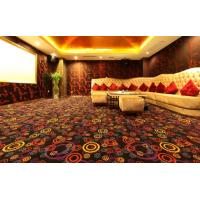 China Brown Machine Tufted Commercial Grade Carpet For KTV , Large Area Rugs on sale