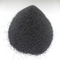 Buy cheap high strength refractory black corundum for polishing and blasting from wholesalers